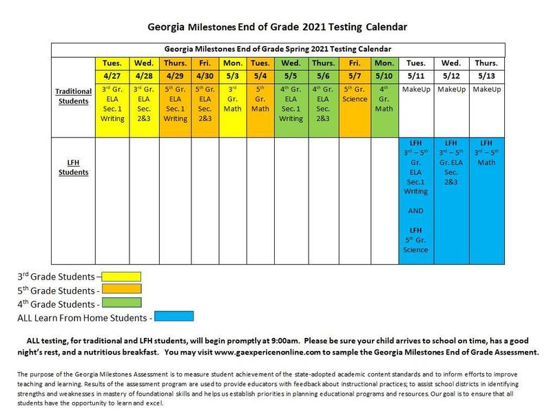 GBE GMAS Testing Schedule Featured Photo