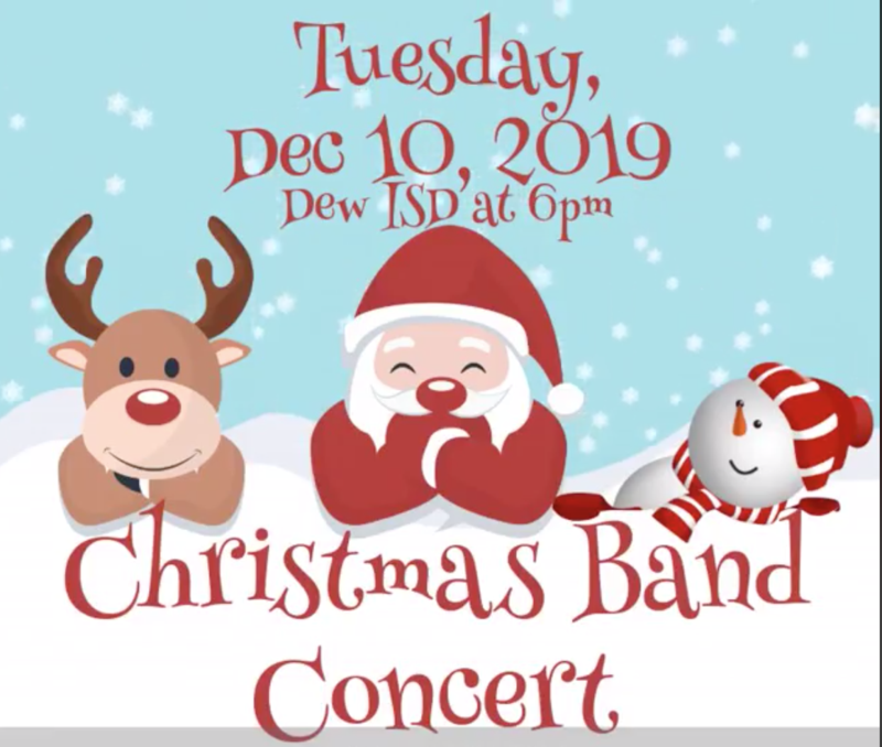 Band Concert 6pm 12.10.19 Featured Photo