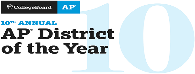 CollegeBoard AP 10th Annual AP District of the Year