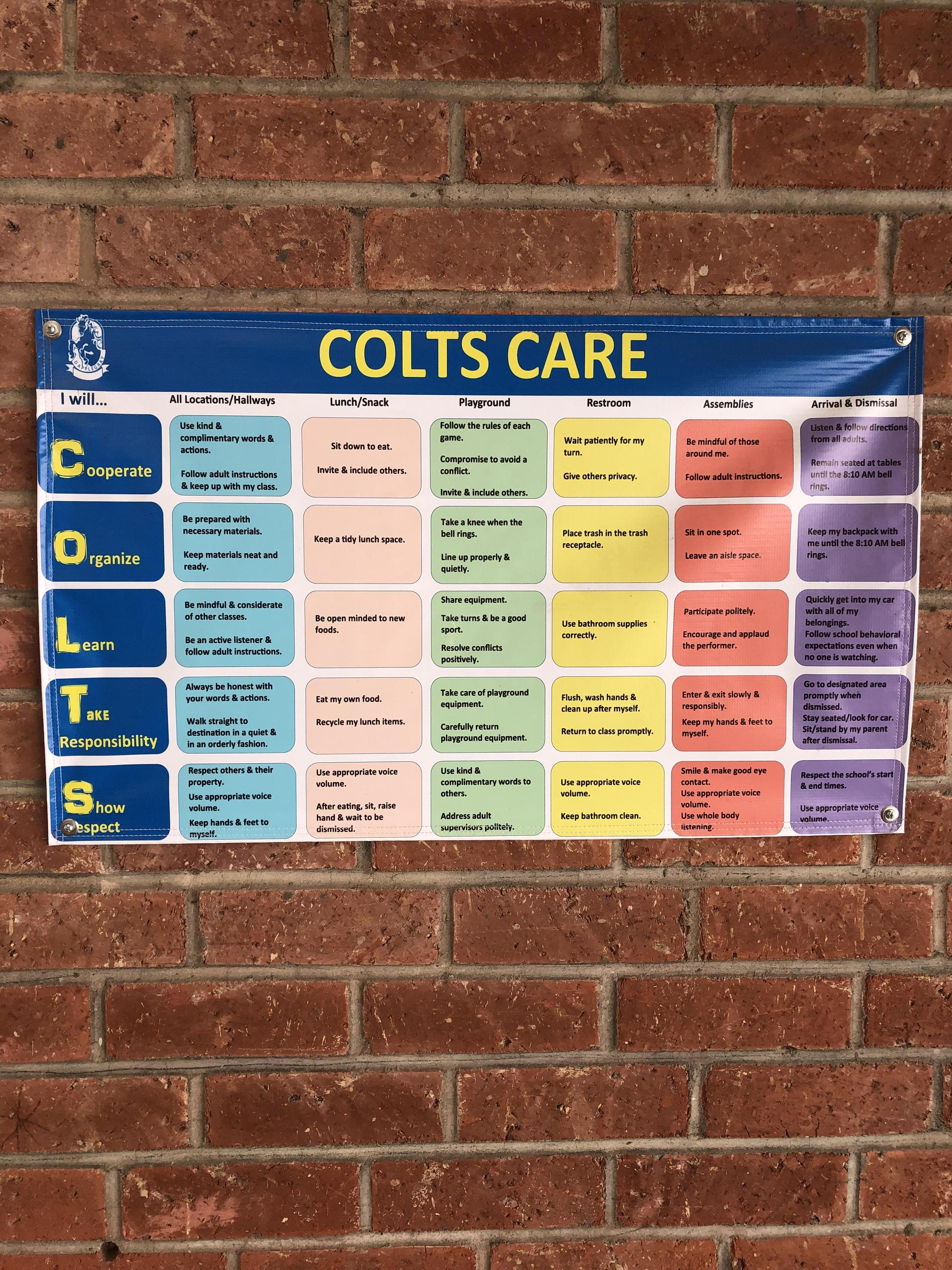 COLTS CARE