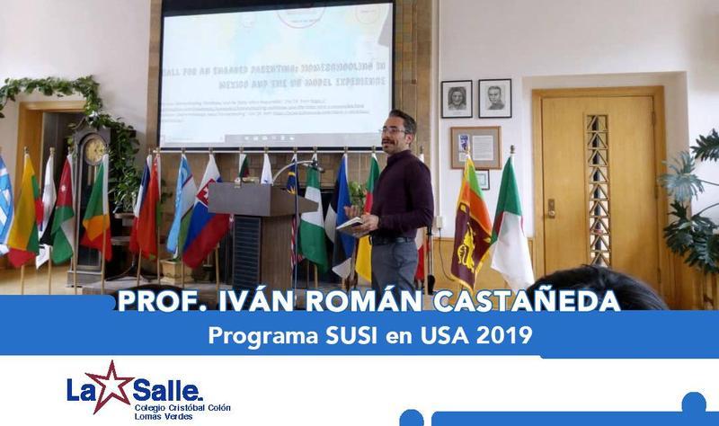 Prof. Iván R. Román Castañeda en el Programa SUSI 2019 Thumbnail Image