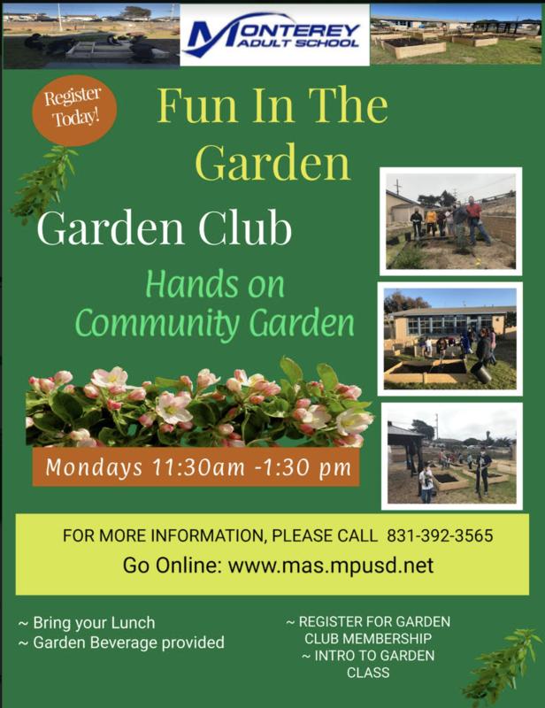 Garden Club Meets on Mondays Featured Photo