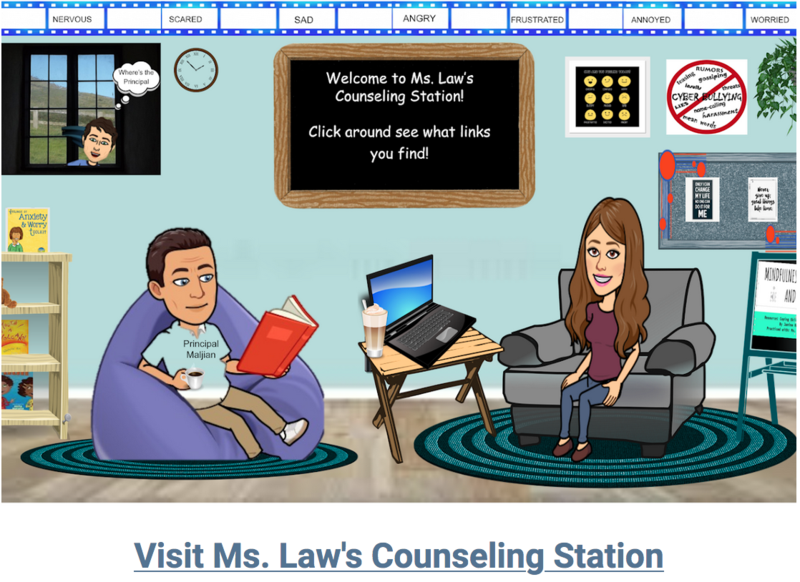 Visit Ms. Law's Virtual Counseling Station! Thumbnail Image