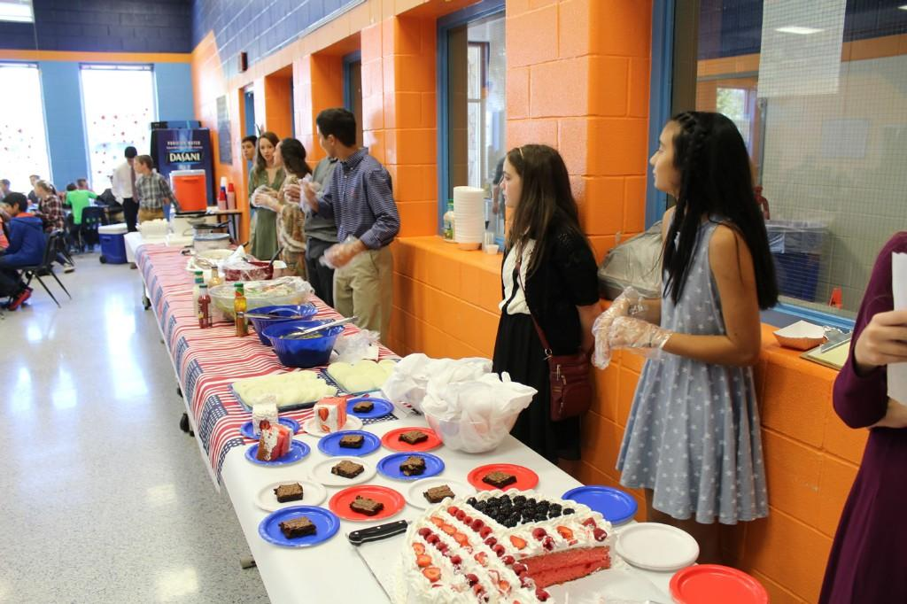 CMS NJHS Luncheon for Veteran's Day 2016