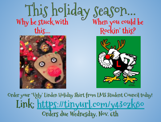 Ugly Linden Christmas Sweater Thumbnail Image