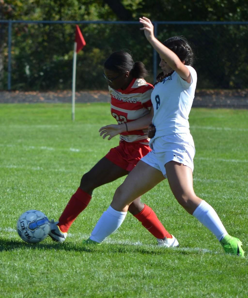 JV Girls' Soccer vs Burrell - 092317