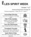 LES SPIRIT WEEK   OCT. 7-11