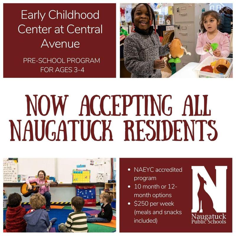 Now accepting all Naugatuck Residents
