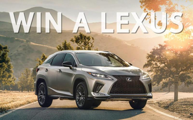 Enter for a Chance to Win a Brand New 2020 Lexus RX Hybrid! Thumbnail Image