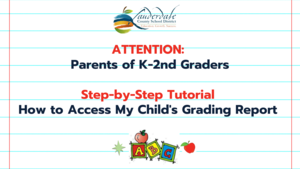 K-2nd Grade Standards-Based Grading Reports Tutorials Graphic