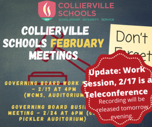 Collierville Schools February Meetings.png
