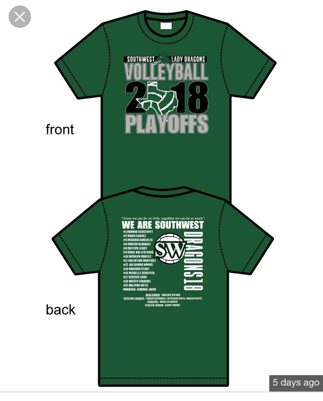 2018 Lady Eagles Volleyball Shirt Available for Purchase Thumbnail Image