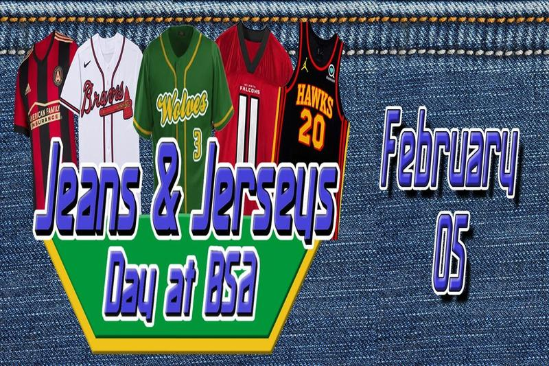 Jeans and Jerseys Day
