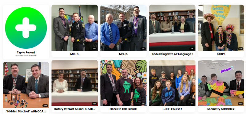 Superintendent Holly's Flipgrid