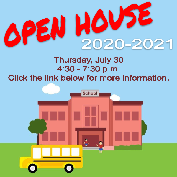 Open House 20-21: Thursday, July 30, 4:30-7:30 p.m. Featured Photo