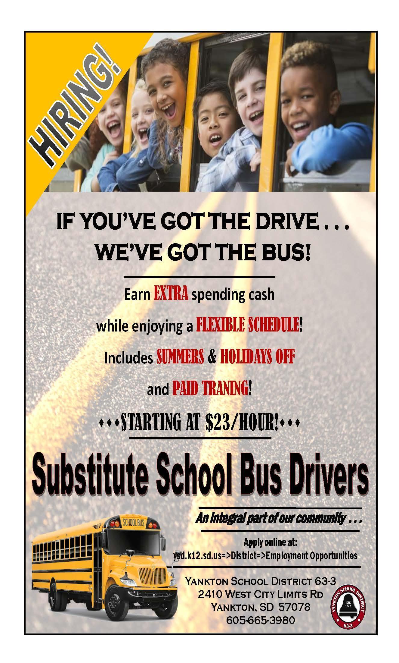 Sub Bus Drivers Ad