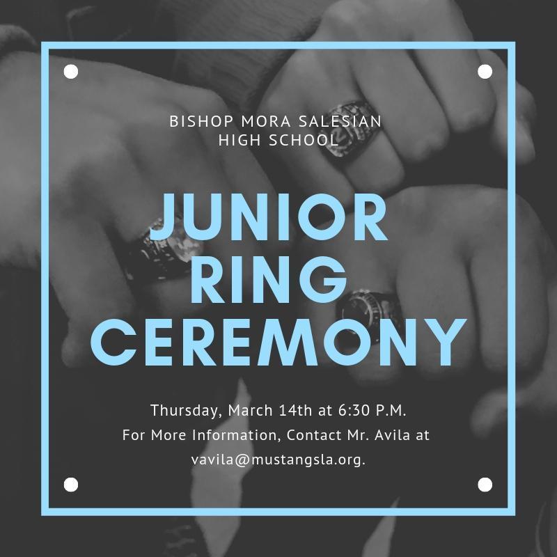 Junior Ring Ceremony
