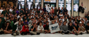 Sharkie launches Reading is Cool Program with 3rd and 4th graders