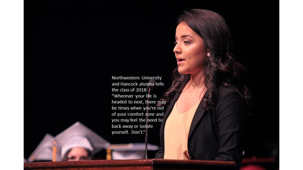 Alumni Speech