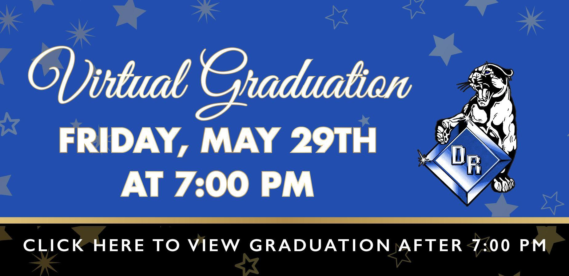 DRHS Virtual Grad Banner