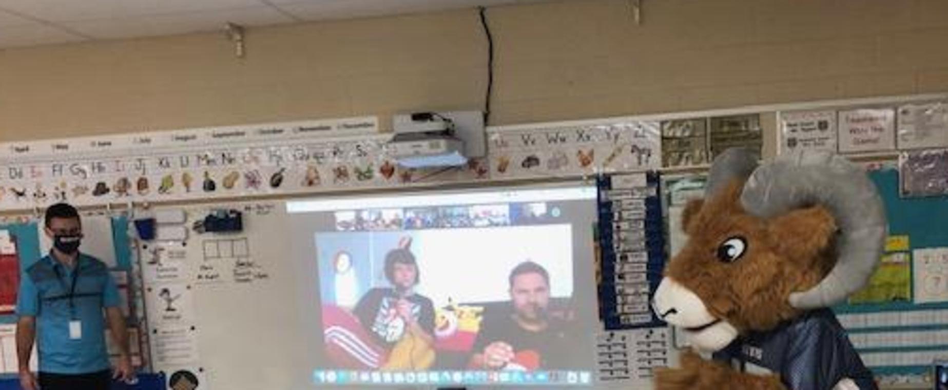 Mr. Rupert's class celebrates PBIS!