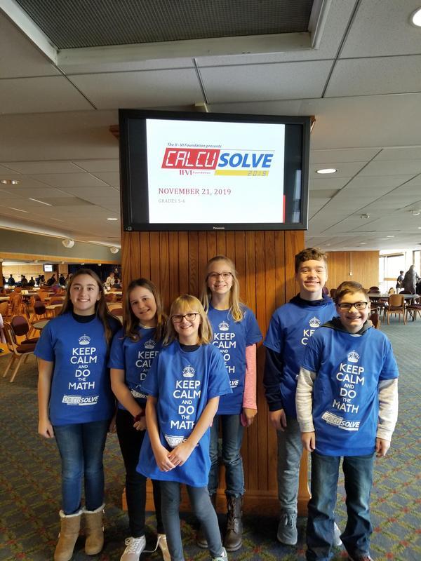pic of 6th grade Calcusolve team