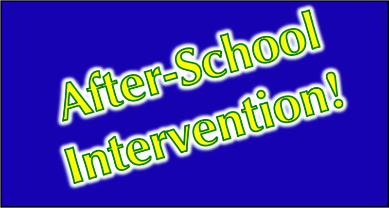 After-School Intervention Classes Featured Photo