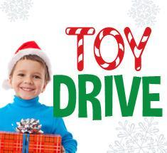 Toy Drive! Donate through Friday 12/14! Featured Photo