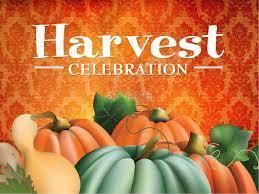 Harvest Celebration!