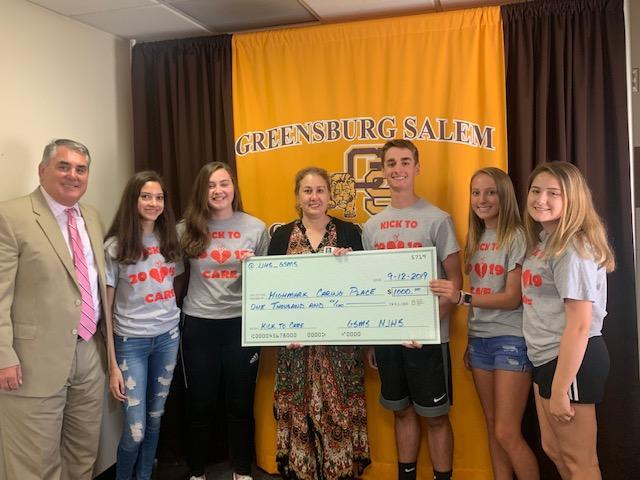Highmark Caring Place Donation