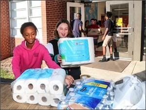 ECPS gives back through Hurricane Relief Drive Thumbnail Image