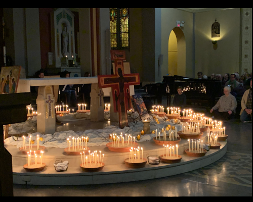 Prayer in the Spirit of Taizé Resumes in Church on Friday, March 5, 2021, at 7:30 PM. Please register and join us! Featured Photo