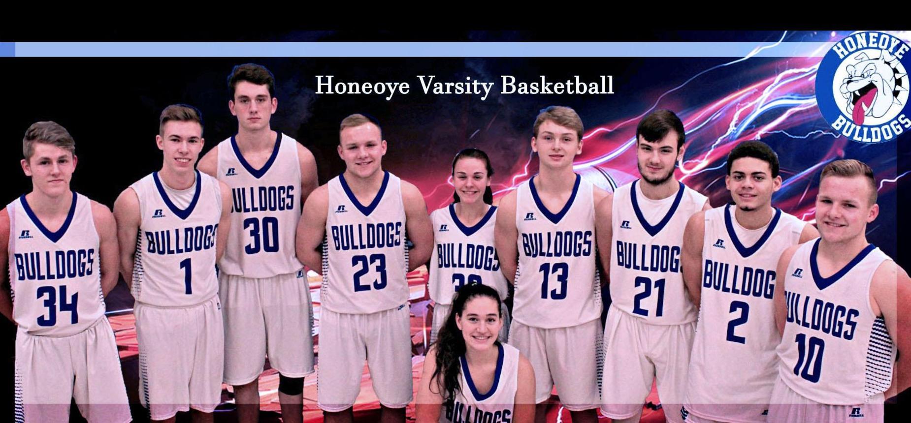 HCS Varsity Basketball team