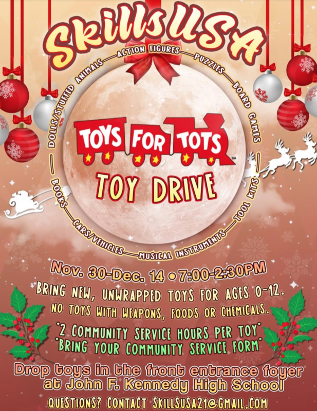 Holiday Donation Drives - Earn Community Service Hours Featured Photo