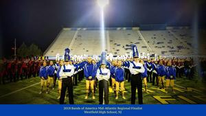 For the first time in school history, the Westfield High School Marching Band was a 2018 Bands of America Mid-Atlantic Regional Finalist at the prestigious competition on October 20.