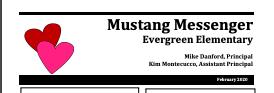 February Mustang Messenger