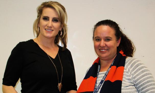 PBIS - Outstanding Teachers 2nd Nine Weeks - Mrs. C. Meche & Mrs. C. Hebert