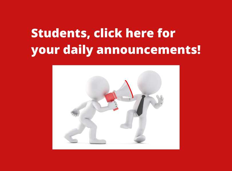 Click here for a slideshow of daily announcements