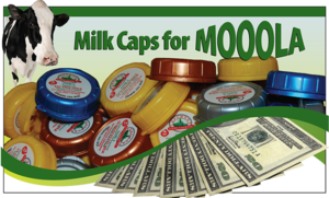 Milk Caps for Moola-Longmont Dairy