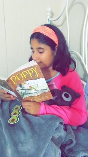 Reading Poppy