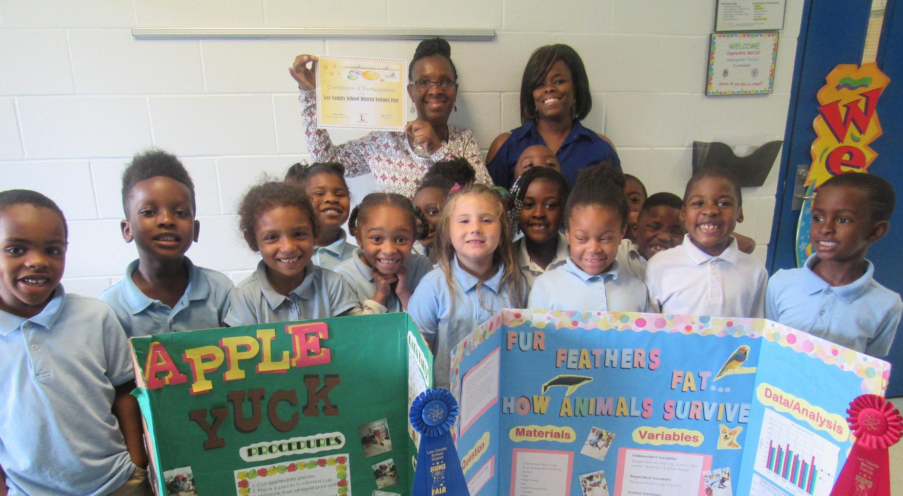 LCSD Science Fair Winners