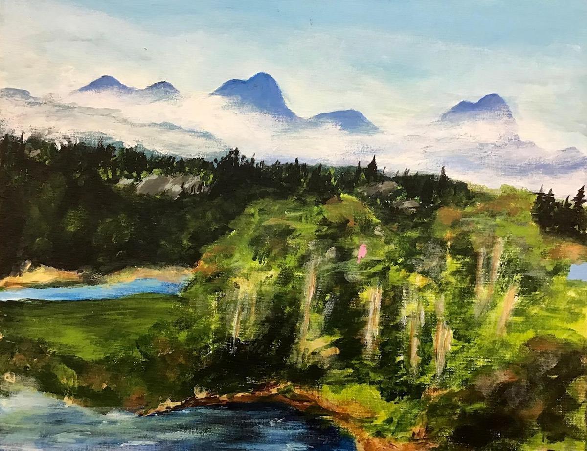 canvas landscape art