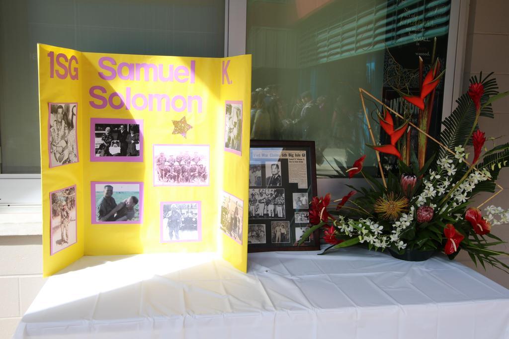Tribute to Sgt. Solomon