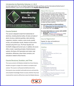 Introduction to Electricity course thumbnail