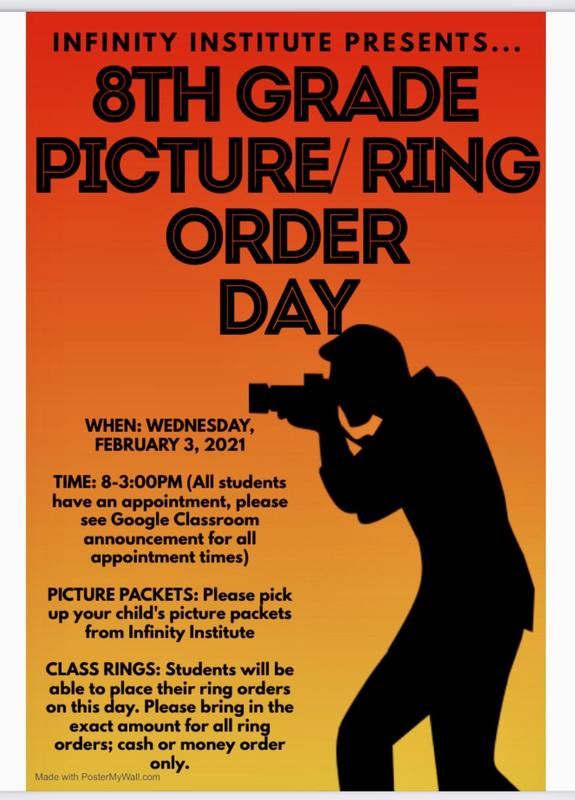 Grades 8 & 12 Picture Day and Ring Ordering Day Featured Photo