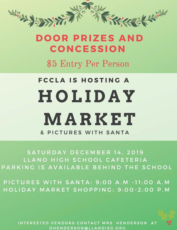 FCCLA Holiday Market Featured Photo