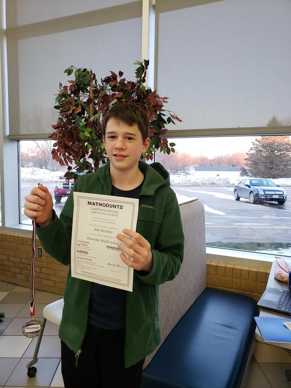 MathCounts Chapter Invitational Competition Featured Photo