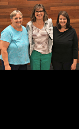 picture of retiring staff members