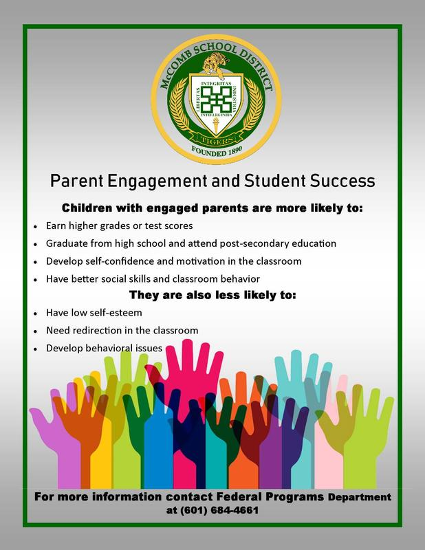 McComb School District Parent Engagement and Student Success News 2019  #It'sComeBackTime