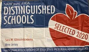2020 ESEA Distinguished Schools banner